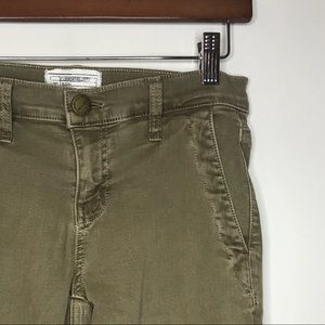 Current Elliott Sz 26 Olive Green Pants